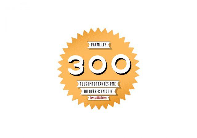 Au 125e rang des 300 PME québécoises