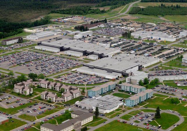 Bâtiment Base militaire Valcartier, Québec