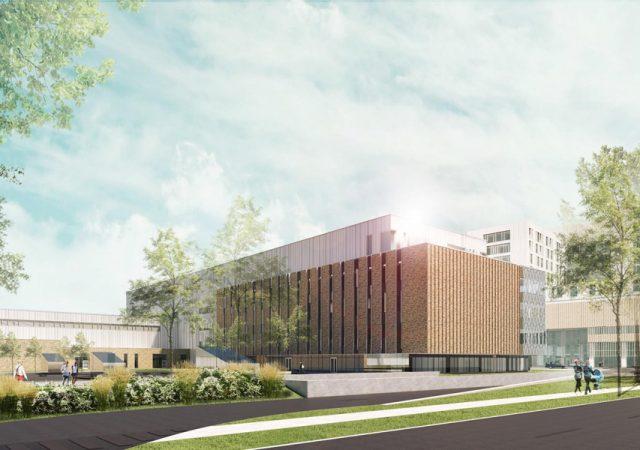 Centre intégré de cancérologie, nouveau complexe hospitalier (phase 1), Québec