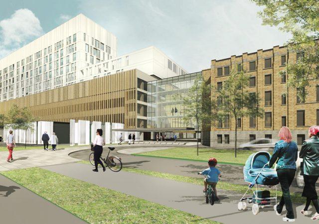 Bâtiment génératrice et Centrale thermique, nouveau complexe hospitalier (phase 1), Québec