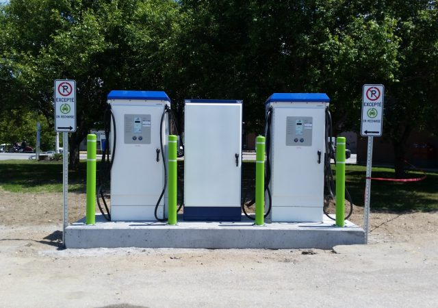 Pagui installs charging stations