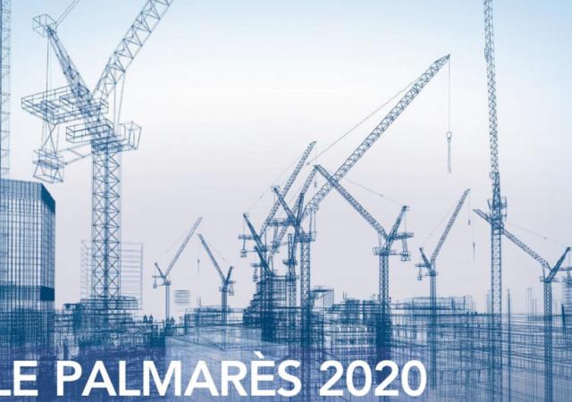 30e position au palmarès annuel des plus importantes entreprises de construction